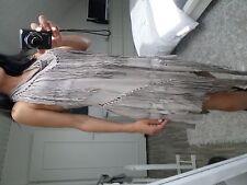Robe fourreau a franges All Saints 36 38 fringe beach Ibiza dress 8