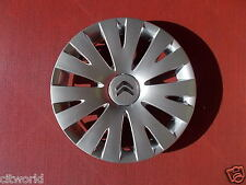 "GENUINE CITROEN BERLINGO 15"" WHEEL TRIM 98136143VV"