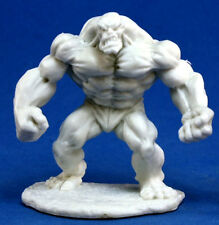 1 x GOLEM ARGILE - BONES REAPER figurine miniature jdr rpg d&d clay elemental