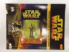 star wars figurine en plomb c-3po n7/60 neuve blister fascicule atlas