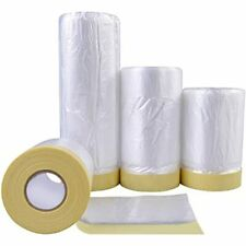 Tape And Drape, Assorted Masking Paper For Automotive Painting Covering 3 Sizes)