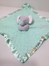 Child of Mine by Carter's Sweet Little One Elephant Lovey Security Blanket Green