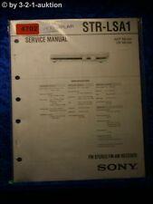 Sony Service Manual STR LSA1 FM/AM Receiver (#4702)
