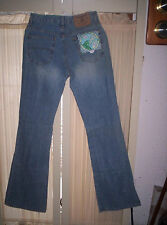 Blue Jeans Teenagers Womens Size 1 100% Cotton New Made Sutters Gold NuggetBrand