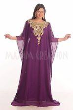 MODERN FARASHA EXCLUSIVE ROBE FANCY ARABIAN MAXI HOME WOMEN DESIGNER WEAR 4800
