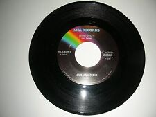Louis Armstrong - Hello Dolly / Blueberry Hill  45  MCA VG 1966