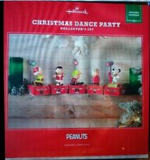 HALLMARK 2017 PEANUTS CHRISTMAS DANCE PARTY COLLECTOR SET SPECIAL EDITION MUSIC