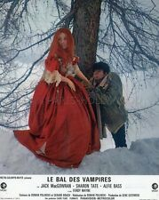 ROMAN POLANSKI SHARON TATE LE BAL DES VAMPIRES 1967 2 VINTAGE LOBBY CARDS LOT