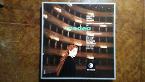 CHERUBINI MEDEA MARIA CALLAS RICORDI ORIGINAL 1ED BOX 3LP'S RICORDI MONO MINT IT