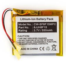550mAh Battery for SanDisk Sansa Fuze 4GB / 8GB SanDisk 8JJH8F15 CS-MPSF350SL