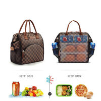WODKEIS Insulated Lunch Bag Totes Thermal Cooler Lunch Box for Men Women Adult