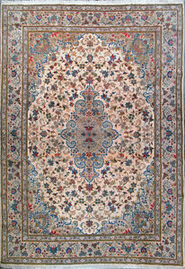 """8' 2"""" x 11' 8""""  Tabriz,  Wool,  Authentic Hand Knotted Persian Rug"""