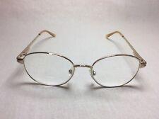Fundamentals Eyeglasses FRAMES F107 Gold 50[]17 130