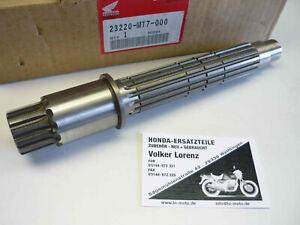NEU orig Honda NR750 Getriebewelle Ausgangswelle Ritzelwelle NR 750 Ovalkolben