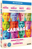 Jodie Foster, Kate Winslet-Carnage Blu-ray NUOVO