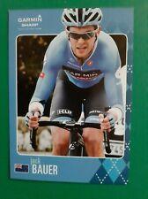 CYCLISME carte cycliste JACK BAUER équipe GARMIN Sharp 2013