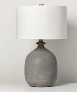 Magnolia Resin Table Lamp Gray | Hearth & Hand