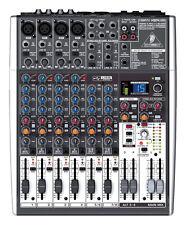 NEW Behringer X1204USB 12-Channel USB Mixer w/ Effects & Phantom-Powered Mic