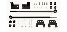 Tuff Country Traction Bars Leaf Spring Steel Black Chevy Silverado Kit