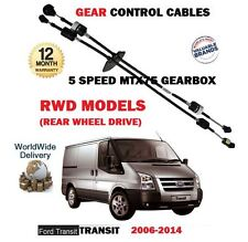 FOR FORD TRANSIT 5 SPEED RWD 2.4 TDCI 2.3 2006-> NEW GEAR CONTROL CABLE 1434708