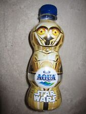 Danone Aqua Star Wars C3PO special collector's edition bottled water, Indonesia