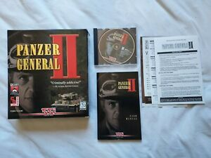 Panzer General II PC Complete Game Windows 95 CD-ROM SSI