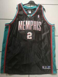 Vintage Reebok Jason Williams Memphis Grizzlies NBA Authentic Jersey Size 56