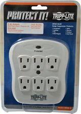 Tripp-Lite 6 Outlets, 120 Volt, 15 Amp, 540 J, Power Outlet Strip 5-15P NEMA ...