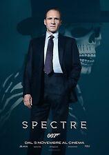 007 SPECTRE MANIFESTO JAMES BOND IAN FLEMING CRAIG SAM MENDES RALPH FIENNES M