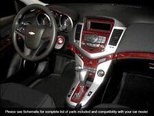 CHEVROLET CRUZE 2010 - 2015 DASH KIT AUTO INTERIOR WOOD CARBON ALUMINUM TRIM SET
