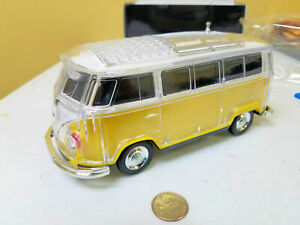 VW Kombi Camper Van Bluetooth Speaker YELLOW color FREE US SHIPPING