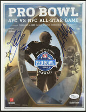 Terrell Suggs & Jared Allen Signed 2009 Pro-Bowl Program (JSA COA)