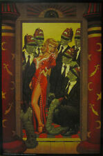 TODD SCHORR SECRET MYSTIC RITES LOWBROW ART POSTER