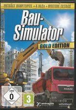 Bau-Simulator 2015 - Gold Edition (PC/Mac, 2015, DVD-Box) Mit Steam Key Code
