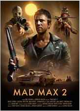 Mad Max 2 Alternative Movie Print Poster by Brian Taylor NT Mondo