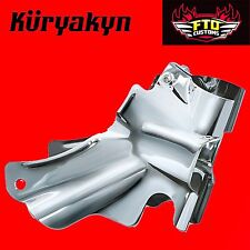 Kuryakyn Chrome Neck Covers for '00-'06 Heritage, Fat Boy & Deluxe 8163