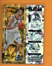 Rudy Gobert 2017-18 Playoff Contenders Cracked Ice Ticket #52 /25