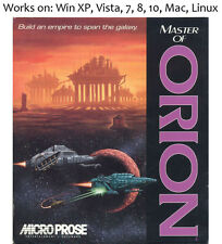 Master of Orion 1 + 2 PC Mac Linux Game