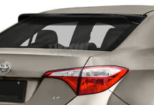 For 2014-2018 Toyota Corolla Black Acrylic Rear Window Roof Visor Spoiler Wing
