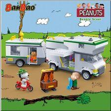 BanBao Snoopy Beagle Scout RV Building Block Set 523 PCS - Peanuts Collection