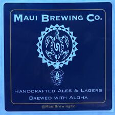MAUI BREWING Co. COMPANY BEER ALE TURTLE DESIGN STICKER Decal Hawaii NEW!