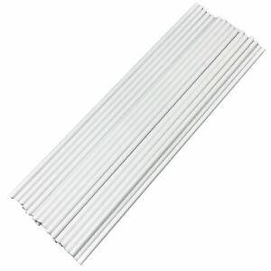White Plastic Cake Dowels Stirrers Sticks 12 Inch or 8 Inches poles sticks