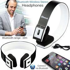Pliable sans fil Bluetooth V4.1 Casque stéréo écouteurs mains libres pour iPhoneX