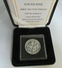 More details for 1972 royal wedding anniversary sterling silver £2 coin box / coa  alexandra ship