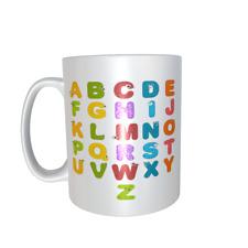 Alphabet mug ref1072
