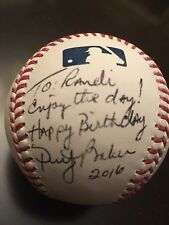 DUSTY BAKER AUTOGRAPHED GAME BALL INSCRIBED