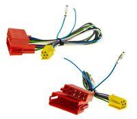 Auto Radio Aktiv Sound System Adapter Kabel Mini ISO für Audi A3 A4 bis 2004