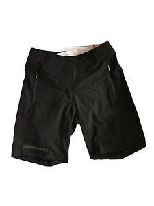 Louis Garneau Latitude Womens Bike Shorts Black With Gray Liner