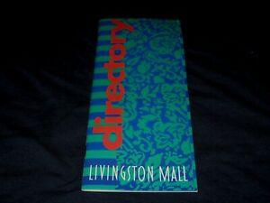 LIVINGSTON MALL-LIVINGSTON, NJ-1994 DIRECTORY BOOKLET