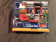 New Anaheim Angels MIKE TROUT Buildable Lego MLB Locker Room Set 106 Pieces VHTF